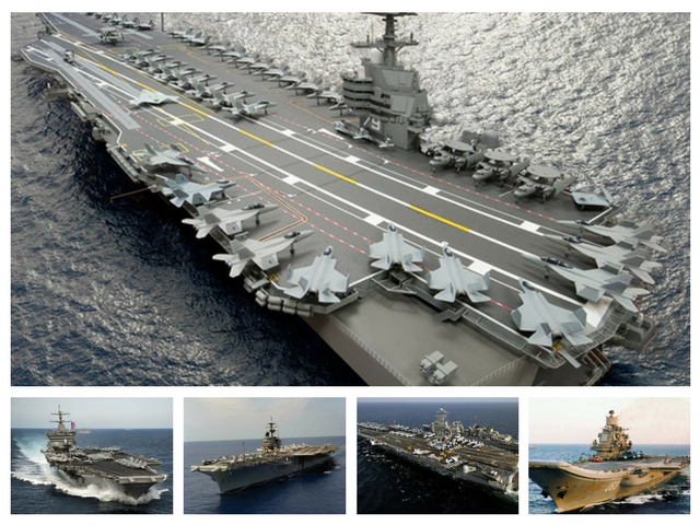 World's largest and most powerful warships of all time