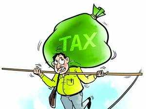 TDS liability is calculated on the estimated income for the whole year at the average rate of income tax i.e. on pro rata basis.
