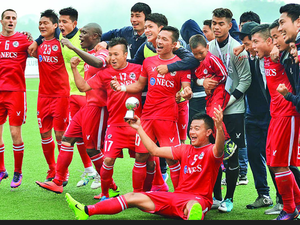 The passion for footbal l in Mizoram is supported by the state government that wrote to the AIFF asking if Aizawl could remain in the I-League when they were relegated last season.