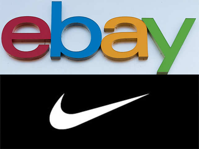 eBay was originally called Auction bay, while Nike (below) was Blue Ribbon Sports.