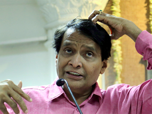 """It was """"not a take over"""" by the Finance Ministry, says Prabhu."""