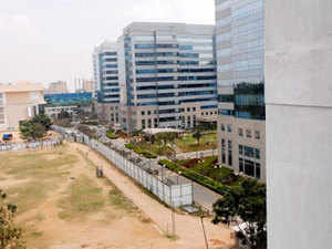 With the opening of the new delivery centre, CSS Corp has five delivery centers in India - three in Chennai and two in Bangalore.  In Pic:  International Tech Park