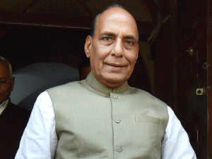 Rajnath Singh has reportedy said that Naxalities should be given a befitting answer.