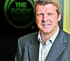 Jonathan Price, MD (Asia Pacific), The Body Shop