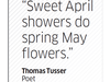 Quote by Thomas Tusser