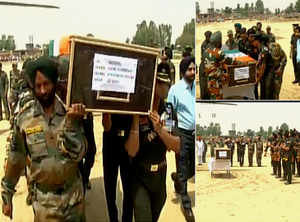 Nation pays tribute to martyred JCO Naib Subedar Paramjeet Singh
