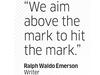 Quote by Ralph Waldo Emerson