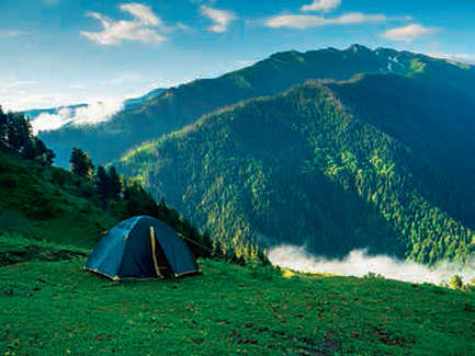 Kasol amidst misty mountains remains to be rediscovered in a whole new light
