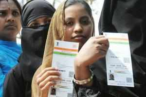 SC bench is hearing several petitions challenging the Centre's recent move to link PAN cards to Aadhaar.