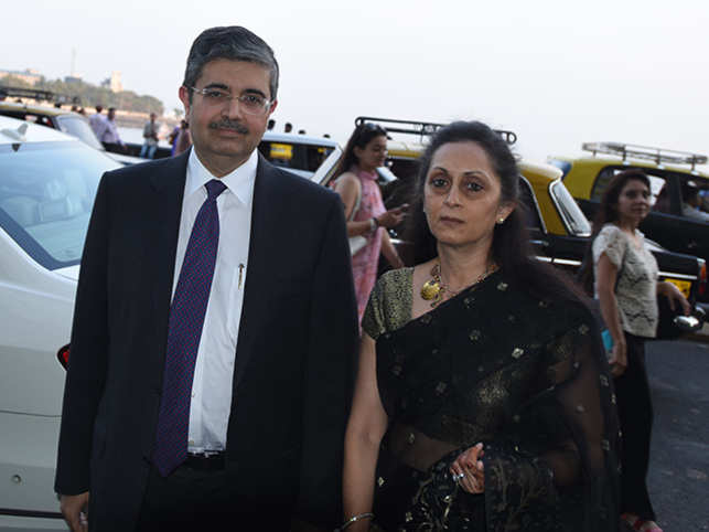 The Kotak Mahindra Bank MD said that his wife 'has lived within her means'.
