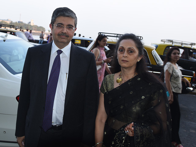 Uday Kotak: No increase in bank withdrawals by wife, says Uday ...