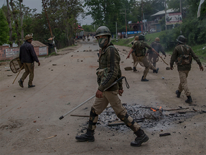 The district has also emerged as a 'reception area' for foreign militants who sneak into South Kashmir via Pakharpora of Budgam district only to disperse.
