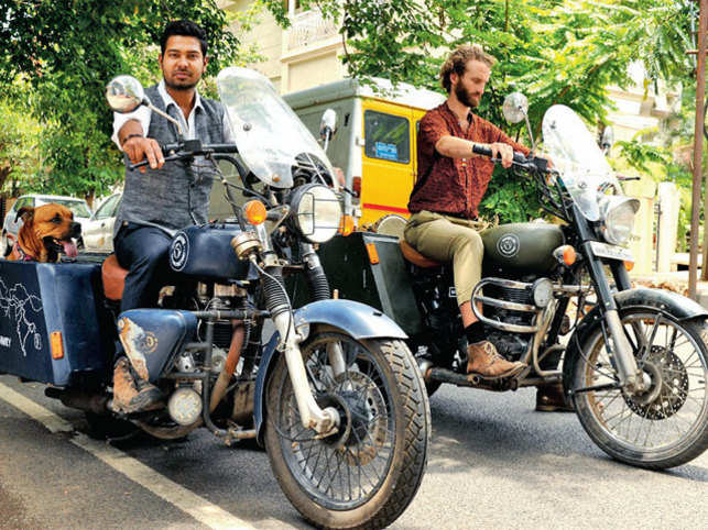 Soul Riders: From India to Scotland on bikes and on a mission