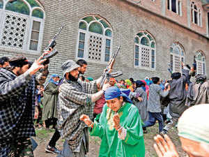 Hizb ul Mujahideen and Lashkar-e-Toiba, with high percentage of locals, operating together, says J-K police chief SP Vaid.