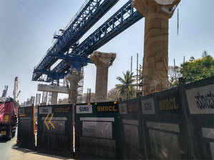 The BMRCL is extending its eastwest corridor, which on the western side, will terminate near the NICE junction beyond Kengeri. (File pic)