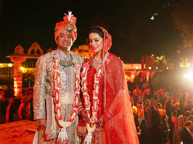Nepalese Biz Tycoon Binod Chaudhary S Son Gets Married