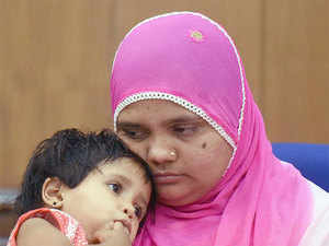 """Bilkis, who was pregnant at the time and lost her three- and-a-half-year-old daughter in the riots, is hoping that the judgement will help her lead a """"good life""""."""