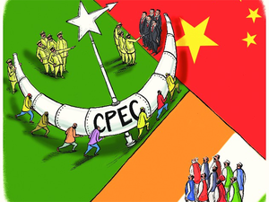 The CPEC will link Kashgar in Xinjiang in China and a deep sea port at Gwadar in Balochistan in south-western Pakistan.