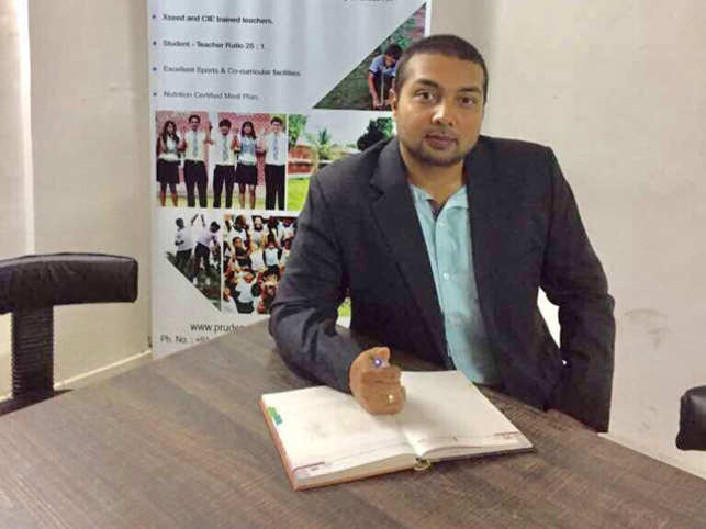 A maximum enrolment of 500 students, says Khandhar, Chairman, Prudence International School, allows individual focus on each child.