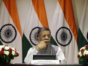 Gopal Baglay also said External Affairs Minister Sushma Swaraj had written to Pakistan Foreign Affairs Adviser Sartaj Aziz on April 27 requesting visa for Jadhav's family.