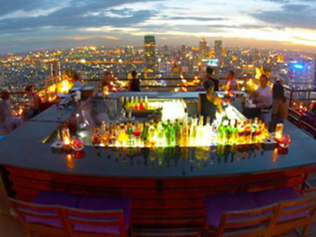 From Bangkok to Berlin, these eateries promise delicious food amid scenic view