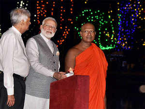 Modi assured Tamils that the government and people of India are with them in their journey towards peace and greater prosperity.