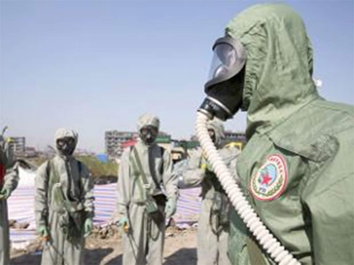 US approves sale of chemical warfare protective gear to India - The ... c8eebf431c075