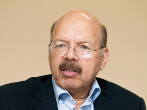 "The poll panel also said it will hold a ""challenge"" for political parties to prove their claim that Electronic Voting Machines (EVMs) used in elections to five states earlier this year were tampered with. (In Pic-Nasim Zaidi)"