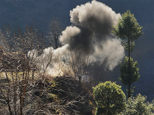 This is third ceasefire violation along Indo-Pak border in J&K in past three days.