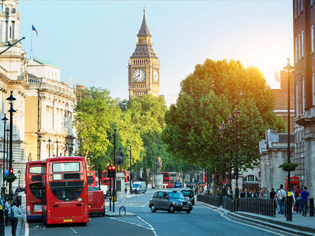 London features among the 'Top Vegetarian-Friendly Destinations and Preferences of Indian Vegetarian Outbound Travellers' in a survey by Cox & Kings.
