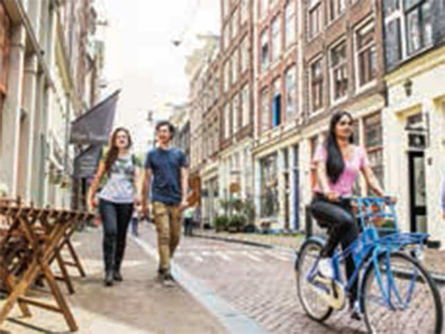 Cycling is an ubiquitous mode of transportation and the Netherlands is a perfect destination to explore by bike