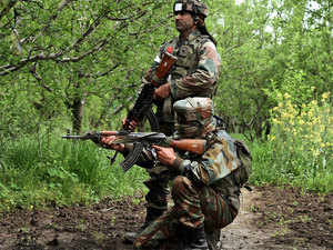 The search operation comes two weeks after a similar but larger operation was launched in Shopian district to flush out militants.