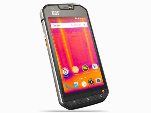 CAT S60 is the first smartphone with an integrated thermal camera, allowing users to detect heat loss around windows and to see in complete darkness.