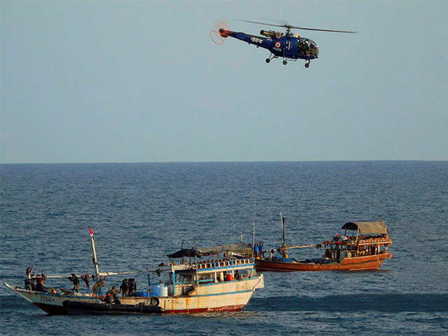 How Indian Navy foiled piracy attempt in Gulf of Aden - Job