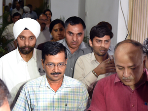 "Chief Minister Kejriwal had accused the Centre of ""stalling"" the Delhi government's activities"