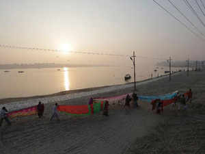 Bihar, Jharkhand and West Bengal are the other basin states of the 2525-km-long river.