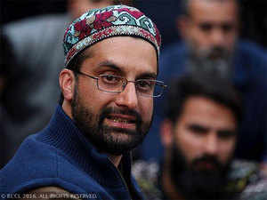 A police team arrived at Mirwaiz's residence early in the morning and informed him that he could not move out on Friday.