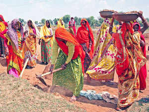 For the current fiscal, the government had disbursed Rs 23,443 crore, or half of the 2017-18 budget allocation for MGNREGS, to the states in April.