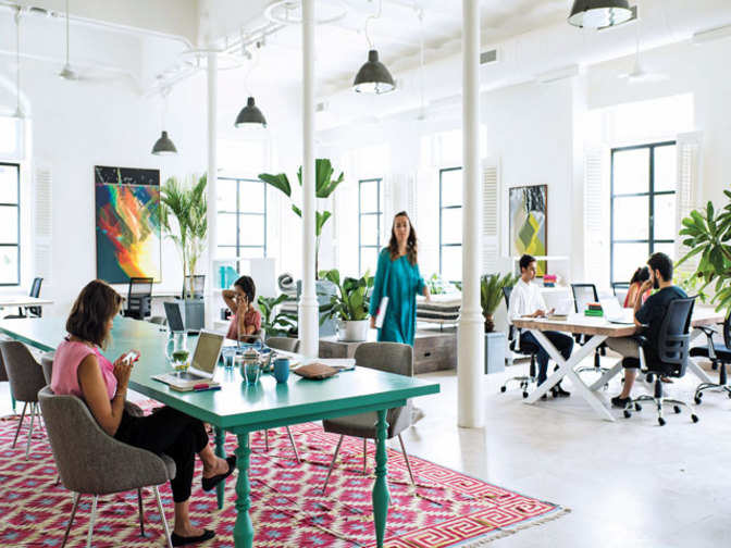 How freelancers, corporates, startups can benefit from shared workspaces - The Economic Times