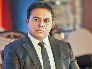 """""""Hyderabad is a leader in sectors like information technology, pharmaceuticals and life sciences. We are now taking these to the next level,"""" KT Rama Rao said."""