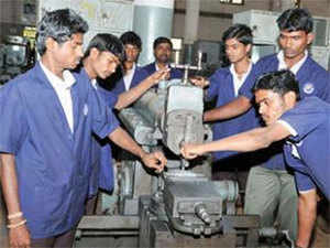 The government's vocational training programmes are administered by industrial training institutes (ITIs), which cater to about 36 per cent of the 7 million people presently enrolled in various training programmes in India.