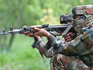 Two militants were killed on Sunday while one soldier also died in the operation which lasted for more than 36 hours.