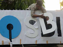 Shares of State Bank of India (SBI) meanwhile have managed to endure the selling pressure.
