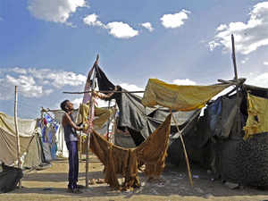 The report  said that conflict, violence and disasters caused 31.1 million new internal displacements in 2016.