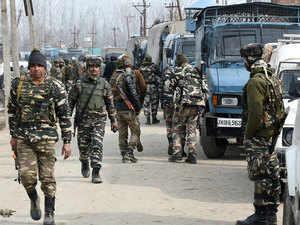 Around 90 militants were active in north Kashmir, comprising Bandipora, Baramulla and Kupwara districts.