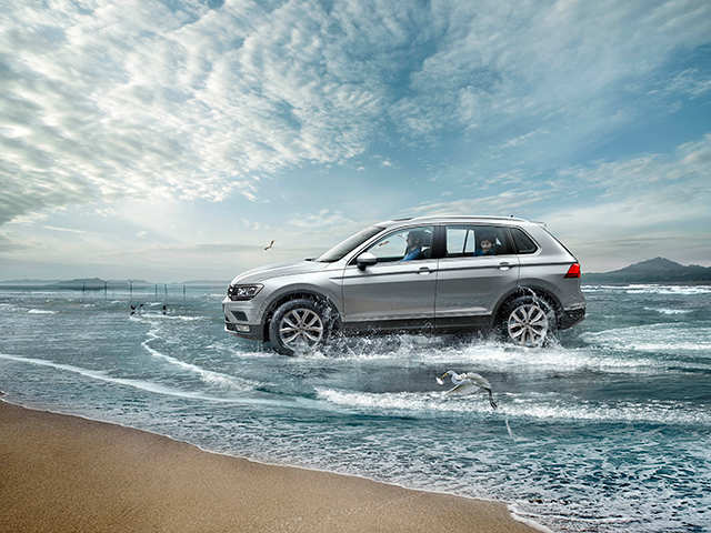Volkswagen Launches Premium Suv Tiguan At A Starting Price Of Rs