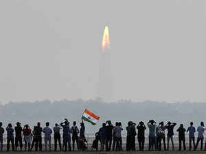ISRO enters into a bold new world muscling its way to make its mark in the world's heavy weight multi-billion dollar launch market.