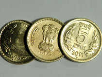 The rupee opened 4 paise down at 64.48 against dollar on Monday.
