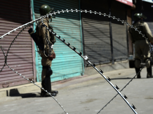 While the separatists had called for a shutdown for two days - on Sunday and Monday - a spontaneous strike was observed in the areas where there were no restrictions.