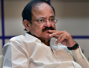 """""""Framing of charges against BJP will not have any impact on the party's image,""""  Venkaiah Naidu said."""